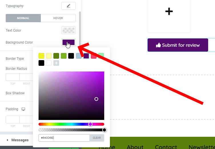 Change The Background Color