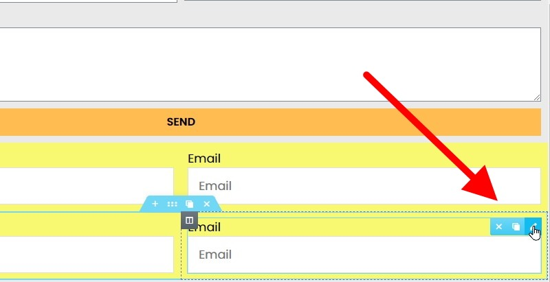 Make Sure The Email Field In The Bottom Section Is Checked Before You Proceed To Edit In The Left Hand Sidebar