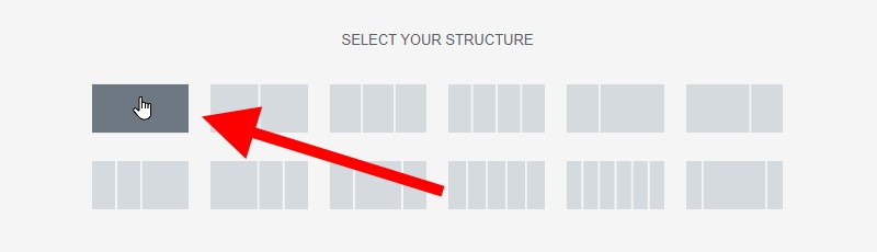 Select A Single Column Structure